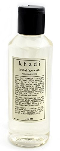 Khadi Herbal Face Wash Sandalwood