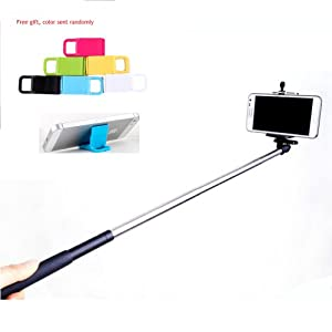 handheld monopod extendable selfie handheld stick monopod pod for iphone sam. Black Bedroom Furniture Sets. Home Design Ideas