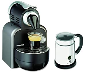 magimix nespresso 11270 essenza with aeroccino platinum kitchen home. Black Bedroom Furniture Sets. Home Design Ideas
