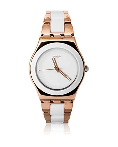 Swatch Quarzuhr Woman ROSE PEARL YLG121G 33 mm