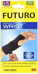 Futuro Energizing Wrist Support, Left Hand, Large Extra-Large by Futuro