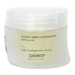 Giovanni Salt Scrub, Cool Mint Lemonade, 9 Ounce (260 g)