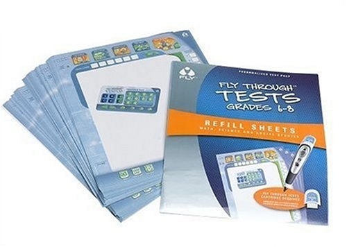 FLY Through Refill Sheets: Tests Grades 6-8