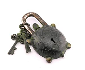 turtle padlock how to open