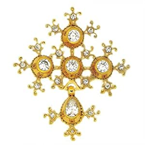 Souvenirs of France - 'Prestige' Cross of Saint-Lo (Normandy) - Material: 18-Carat Solid Gold