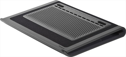 Best Deals! Targus Space Saving Lap Chill Mat for Laptop up to 17-Inch, Gray/Black (AWE80US)