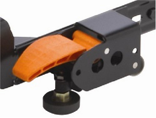 HTC 5115 Side Mount Floor Lock for Mobile Bases with 2-Inch Tubing