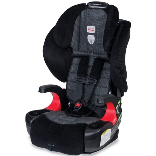 Britax Pioneer 70 Harness-2-Booster Car Seat, Onyx image