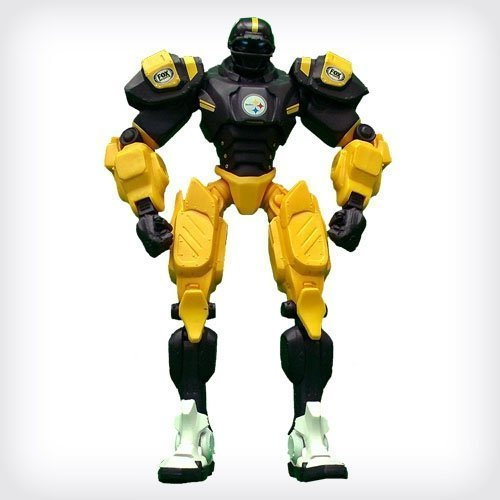 NFL Pittsburgh Steelers 10 Team Cleatus FOX Robot Action Figure Version 2.0 by NFL