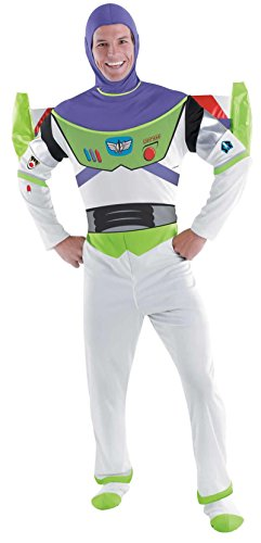 Deluxe Buzz Lightyear Costume - X-Large - Chest Size 42-46