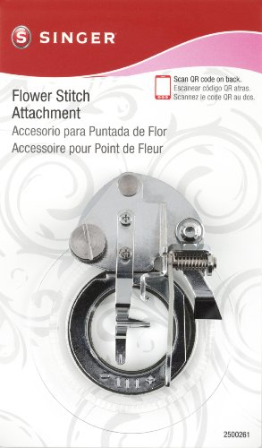 SINGER Flower Stitch Presser Foot Attachment for Low-Shank Sewing Machines (Singer Presser Cover compare prices)
