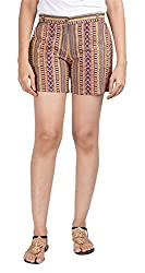 Abony Women's Cotton Shorts (GMWS102_26, Multicolor, 26)