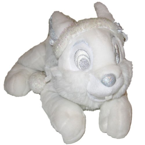 Disneys Snowflake Thumper 12 Plush Winter White Silver Holiday