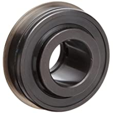 Timken ER Industrial Series Wide Inner Ring Ball Bearing, With Snap Ring, Double Sealed