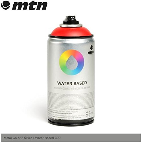 mtn-metal-colour-silver-300ml-water-based-spray-paint