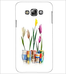 PrintDhaba Flowers D-2108 Back Case Cover for SAMSUNG GALAXY GRAND 3 (Multi-Coloured)