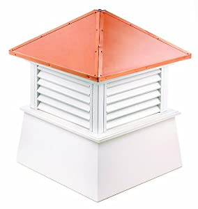 Good Directions 2118mv Manchester Louvered Cupola With Hip