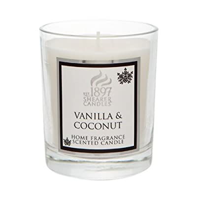 Shearer Candles SCC721 20 cl Spring Couture Vanilla and Coconut Scented Candle Jar from Shearer Candles