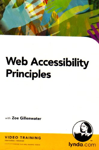 Software: Web Accessibility Principles (PC CD)