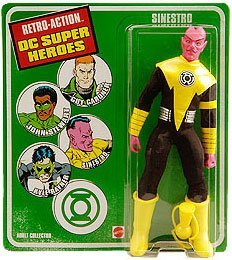 Buy Low Price Mattel DC Universe Worlds Greatest Super Heroes Retro Series Exclusive Action Figure Sinestro Sinestro Corp (B004XRNC10)