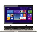"Toshiba - Satellite Click 2 2-in-1 13.3"" Touch-Screen Laptop - Intel Pentium - 4GB Memory - 500GB Hard Drive - Satin Gold, L35W-B3204"