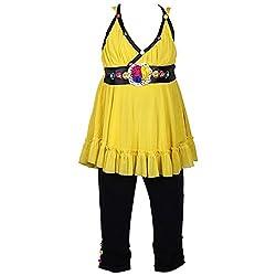 Wish KaroCasual wear top and capri setCSL84
