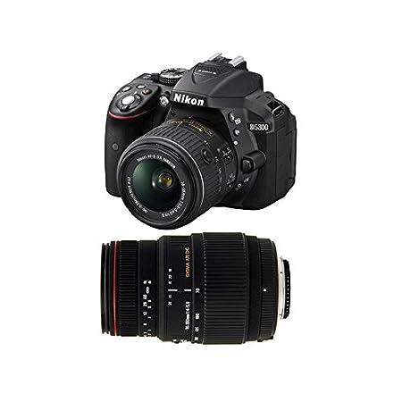 NIKON D5300 + 18-55 VR II+ SIGMA 70-300 DG APO MACRO