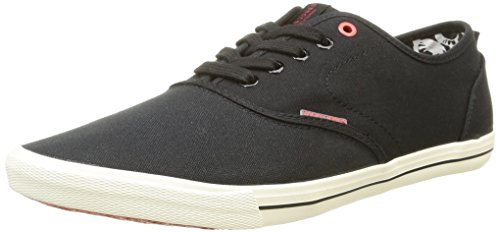 jack-jones-jjspider-canvas-sneaker-herren-sneakers-schwarz-anthracite-44-eu-10-herren-uk