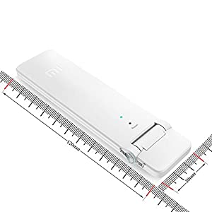 WiFi Range Extender, Xiaomi WiFi Repeater 2 WiFi Signal Booster Universal WiFi Amplifier 300Mbps 802.11n Wireless USB WiFi Extenders Signal Booster (W