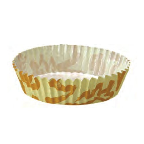 Welcome Home Brands Baking Cups, Quiche/Tart Sunshine, 4.7-Inch Diameter by 1.2-Inch Height, One Case of 1500 Units