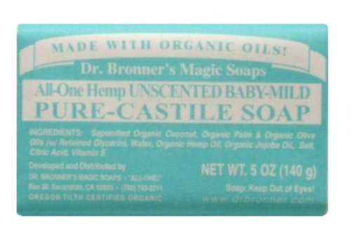 Dr Bonners Mild Baby Organic Bar Soap (1x5 OZ)