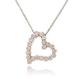 C. Gonshor Diamond Heart Pendant, $2895 Retail