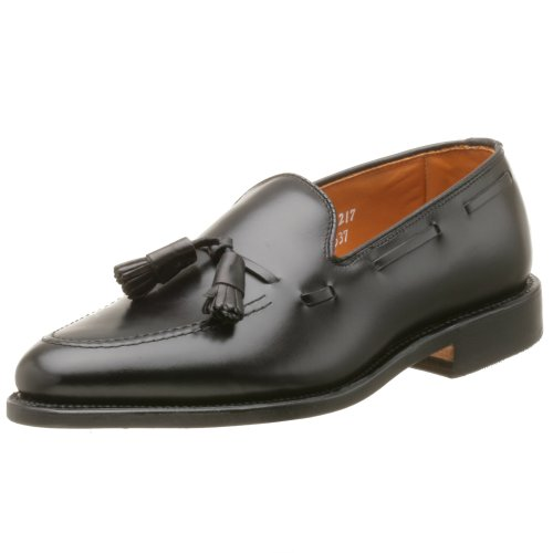 Allen Edmonds Men's Grayson Tassel Loafer,Black,11.5 EEE