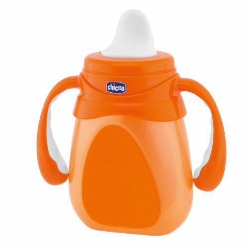 Chicco 00002015200000 - Tazza Drinky con presa facile, colori assortiti: Blu o Arancione