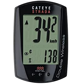 CatEye Strada Double Wireless Bicycle Computer - CC-RD400DW