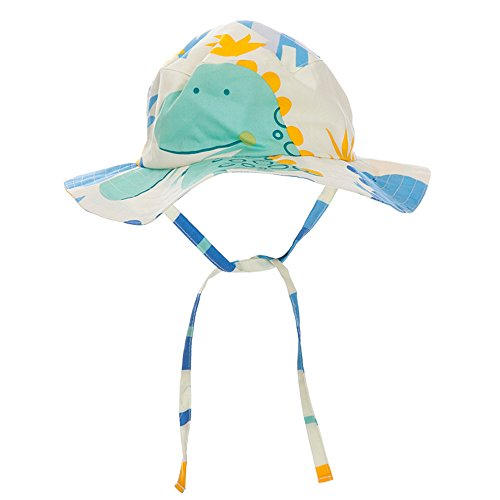 YX Baby Unisex Solid Wide Brim Sun Protection Boonie Hat UPF 50+ (Solid Brim Sun Protection Hat compare prices)