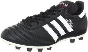 adidas Men's Copa Mundial Soccer Cleat,Black/Running White,9.5 M