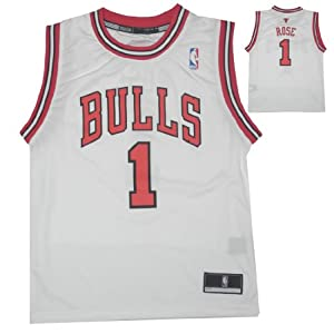 NBA CHICAGO BULLS ROSE #1 Youth Athletic Comfortable Fit Sleeveless Jersey Shirt by NBA
