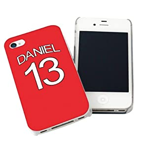 Liverpool Style Shirt Iphone Case by We Do Personalised Gifts
