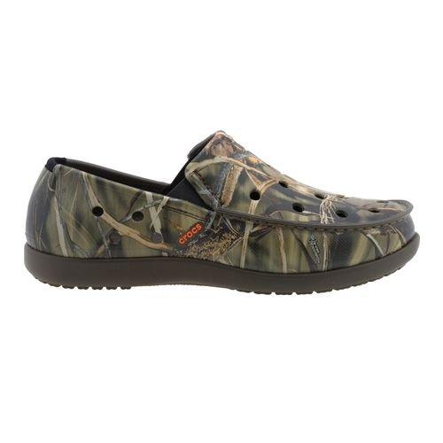 Amazon.com: Crocs™ Men's Duet Santa Cruz Realtree Camo Loafers