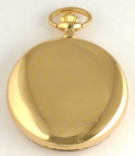 Женские карманные часы Bernex Swiss Made Rhodium Plated Pocket Watch with 17 Jewel Mechanical Movement