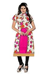 Vaibhav Textiles Women's Silk Unstitched Kurti (k-07_Multi color_X-Large)