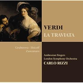 """La traviata : Act 1 """"Un d� felice"""" [Alfredo, Violetta, Gastone]"""
