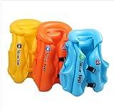 【泳げなくても安心!】子供用 水泳 ベスト ライフジャケット 浮き輪