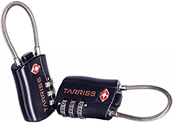 2-Pack Tarriss 3-dial Cable TSA Luggage Locks