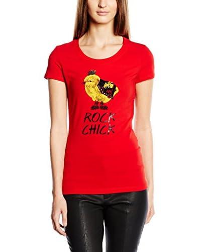 Love Moschino T-Shirt Manica Corta [Rosso]