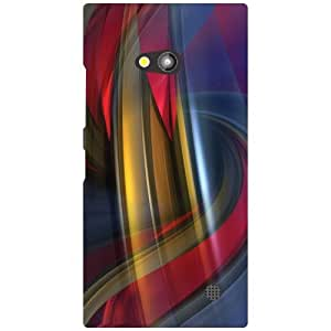 Nokia Lumia 730 Back Cover - Colorful Designer Cases