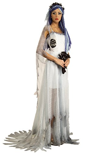 Rubies Womens Deluxe Corpse Bride Halloween Themed Costume