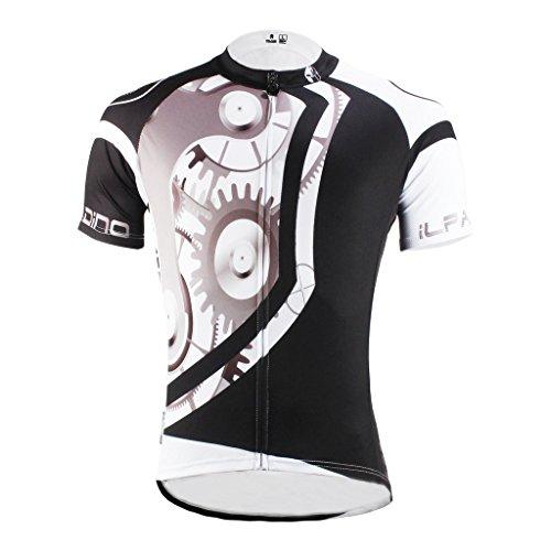 paladinsport-gear-pattern-mens-black-short-sleeve-bicycle-jersey-size-xxl
