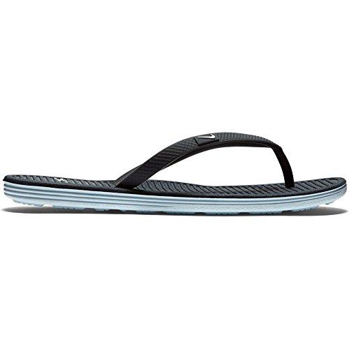 Nike Solarsoft II Women's Flip Flop (11, Anthracite/White-Pure Platinum)